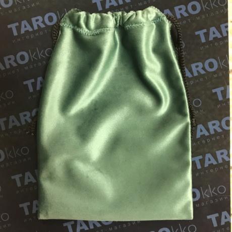 Мешочек для Таро зеленый