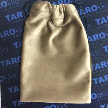 Мешочек для Таро золотистый