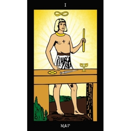 Набор Таро Папюса карты и книга